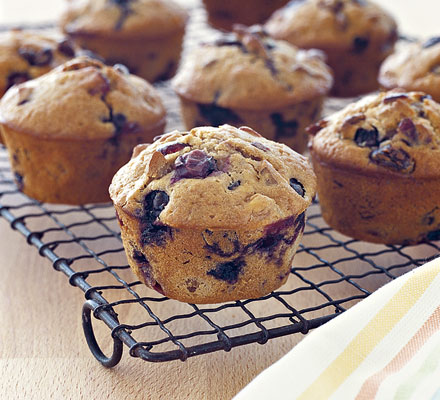 Fruit Burst muffins
