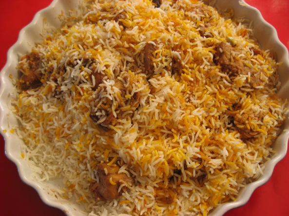 Mutton with Rice