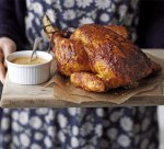 Tandoori roast chicken