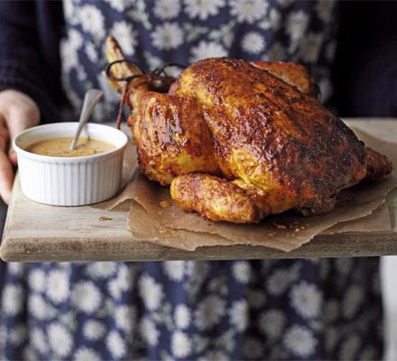 Tandoori roast chicken