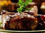 BBQ pork steaks with smoky corn