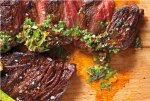 Beer Marinated Grilled Steak