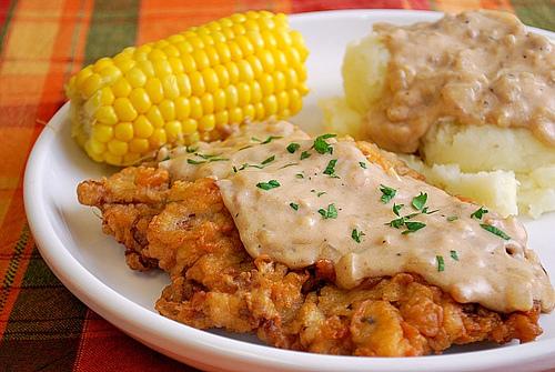 Light Chicken Fried Steak
