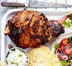 Spiced roast lamb